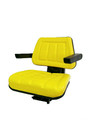 UNIVERSAL TRACTOR SEAT  WITH  ARM REST  - YELLOW