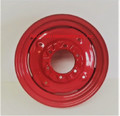 "FRONT WHEEL RIM 4½"" x 16"" - RED"
