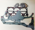 COMPLETE GASKET SET W/ HEAD FOR 3 CYL (00 & 30 SERIES)  [OLD DESIGN]