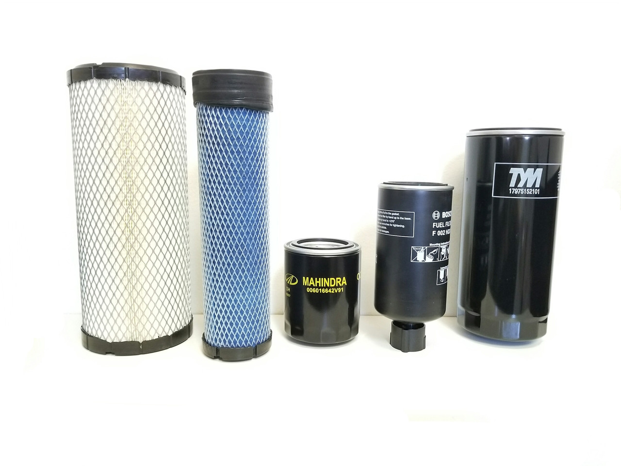 MAHINDRA 2565 FILTER PACK OF FIVE FILTERS
