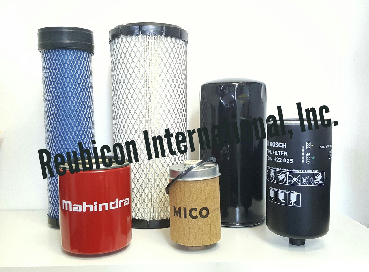 MAHINDRA FILTER ECONOMY PACK OF 6 FILTERS 4540 / 4550