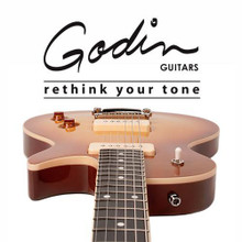 big selection of godin electric and acoustic guitars