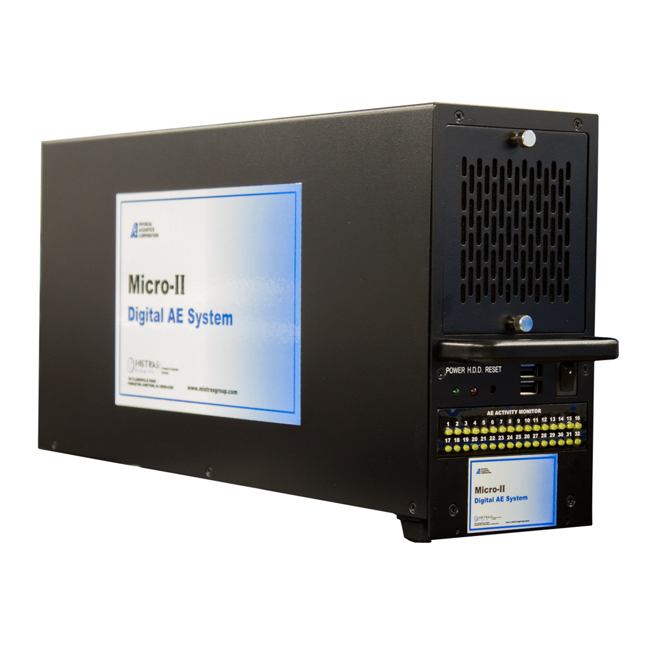 Micro Ii Compact Pci Ae Chassis By Physical Acoustics Quick On Board Junction Tester Loading Zoom