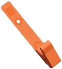 2115-2005 - Clip Plastic Delrin Strap Orange 100 Per Pack