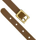 2420-1003 - Luggage Strap Leather Brown 25 Per Pack