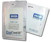 504-ES - Badge Holder Vertical 100 Per Pack