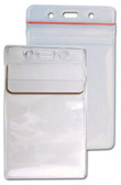 506-35FS - Badge Holder Vertical CC/Govt. 100 Per Pack