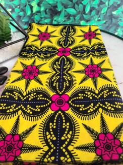 Ankara headwrap - Citroen Hibiscus