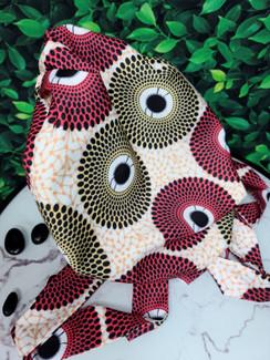 Ankara Print -  Nsubra Bonnet Headwrap