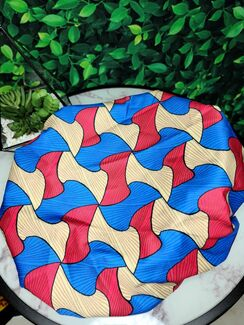 Ankara Print -  Triple Curve Bonnet Headwrap