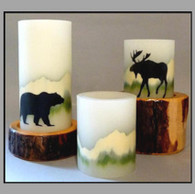 MOUNTAIN WILDLIFE CANDLES