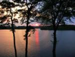Cape Cod Sunset Centerville Pond