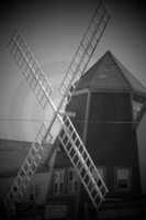Windmill Cape Cod B/W