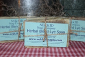 Herbal Blend Lye Soap Bar