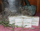 Lavender Lye Soap Bar
