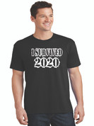 I Survived 2020 Black Tee