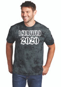 I Survived 2020 Black Tie Dye