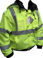 HI VIS CLASS 3 FIVE IN ONE BOMBER JACKET