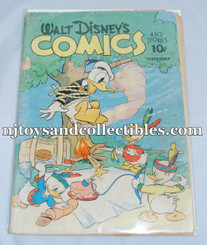 Comic Book: Vintage Walt Disney Comics & Stories #24 Sep. 1942 PR/FR