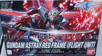 Gundam High Grade: Gundam Astray Red Frame #58 (Flight Unit)