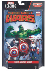 Marvel Legends Comic Book 3.75-Inch Action Figure 2-Pack: Captain America and Vance Astro