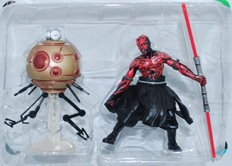 Star Wars POTF2 4-Inch Darth Maul with Droid Loose Action Figure