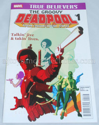 Marvel Comic Book: True Believers Groovy Deadpool #1