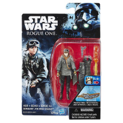 Star Wars Rogue One 3.75-Inch Wave 1: Sergeant Jyn Erso Action Figure