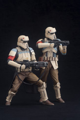 Star Wars Rogue One Scarif Troopers ArtFx+ 2-Pack
