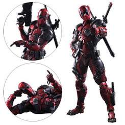 Marvel Play Arts Kai: Deadpool Action Figure, LOOSE