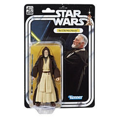 Star Wars 40th Anniversary 6-Inch Obi-Wan Kenobi Action Figure Not Mint