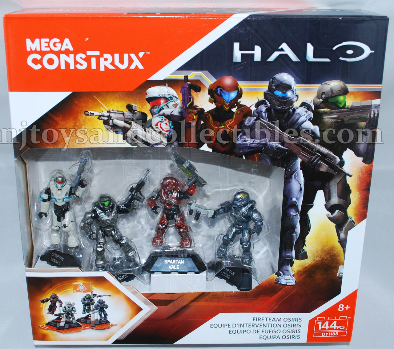 Halo 5 Mega Contrux Fireteam Osiris Mini Figure 4-pack