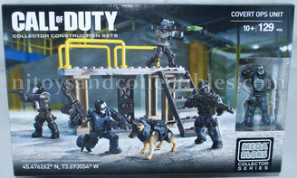 Call of Duty Mega Bloks Covert Ops Unit Construction Set