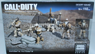 Call of Duty Mega Bloks Desert Squad Construction Set