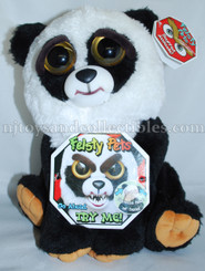 Feisty Pets: Black Belt Bobby Plush Panda