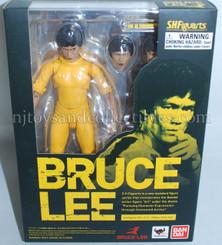 Bruce Lee Yellow Track Suit SH Figuarts Action Figure