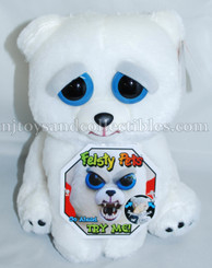Feisty Pets: Karl the Snarl Plush Polar Bear
