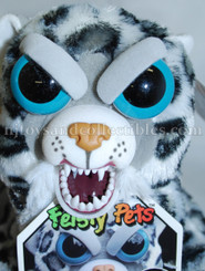 Feisty Pets: Lethal Lena Plush Snow Leopard