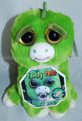 Feisty Pets: Extinct Eddie Plush Green Dinosaur