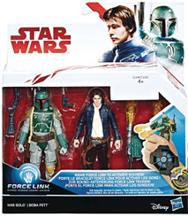 Star Wars The Last Jedi Boba Fett & Han Solo Action Figure 2-Pk