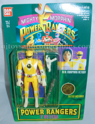 Mighty Morphin Power Rangers Auto Morphin Yellow Ranger Trini Action Figure