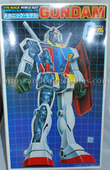 Vintage Gundam RX-78 Mobile Suit 1:72 Scale Model Kit, 1983