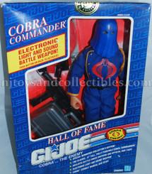 GI Joe Hall of Fame Cobra Commander 12-Inch Action Figure