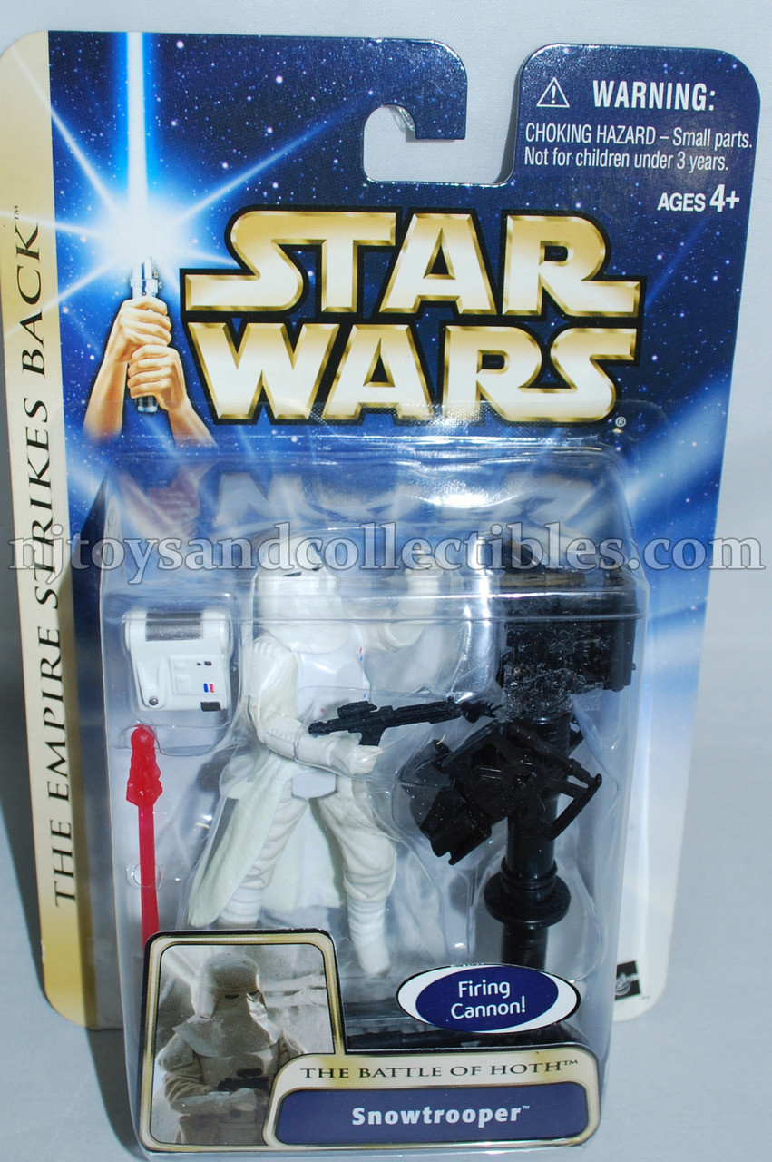 STAR WARS THE EMPIRE STRIKES BACK DELUXE SNOWTROOPER CARDED ACTION FIGURE