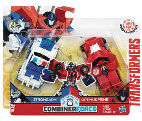 Transformers Crash Combiners Optimus Prime & Strongarm Action Figure 2-Pack