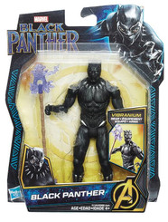 Marvel Black Panther 6-Inch Wave 1: Black Panther Action Figure