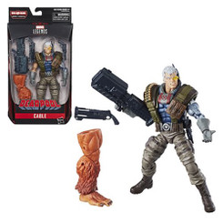 Marvel Legends Deadpool Wave 1: Cable 6-Inch Action Figure