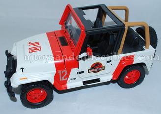 Jurassic World Metal Diecast JP12 Staff Jeep Wrangler