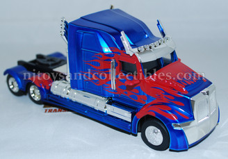 Diecast Metal Vehicle: Transformers Optimus Prime with Pull Back Action