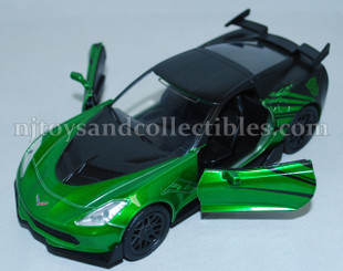 Diecast Metal Vehicle: Transformers Crosshairs with Pull Back Action